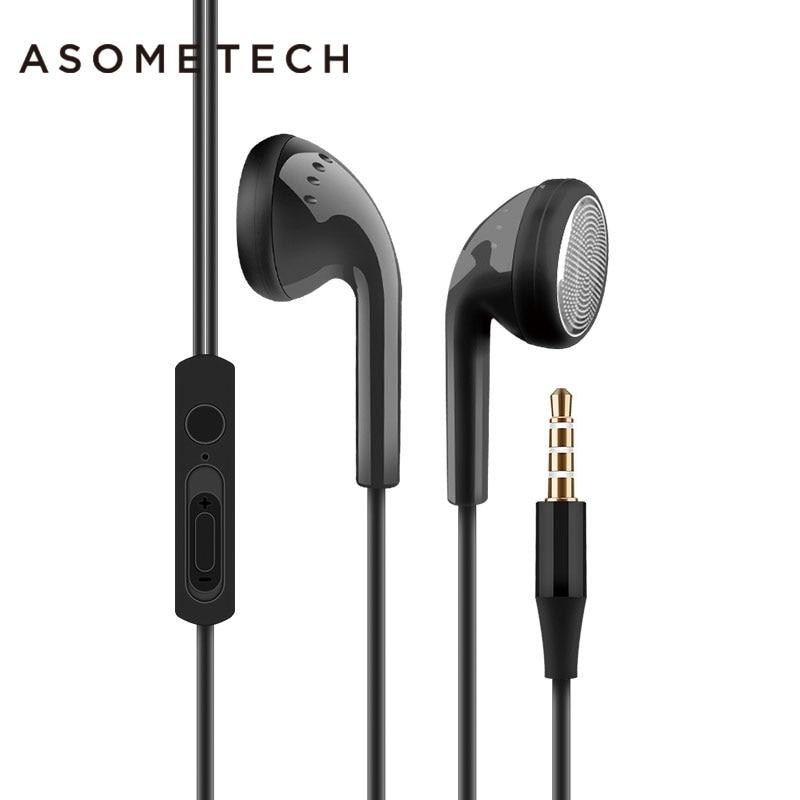 Hot 3.5mm Flat Ear Earplug Earphone Universal Bass In Ear Wired Headset Earphones For Xiaomi Huawei Samsung iPhone 6 6S 5 S Plus ctrinews in ear earphone wired headset for iphone 6 6s 5 sport stereo bass phone earpods for samsung note 8 s8 s7 edge earphones