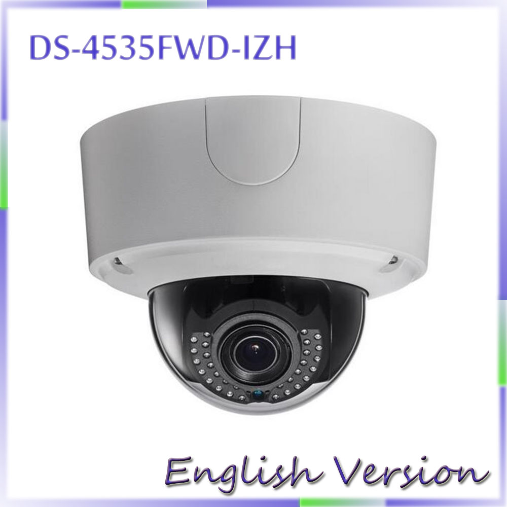 free shipping  english verion DS-2CD4535FWD-IZH 3MP Smart IP Dome Camera Security CCTV Network Camera cd диск fleetwood mac rumours 2 cd