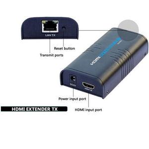 Image 4 - 2020 LKV373 V4.0 HDMI genişletici splitter üzerinde cat5/5e/6 kablo kadar 120M tcp/ip HD 1080P