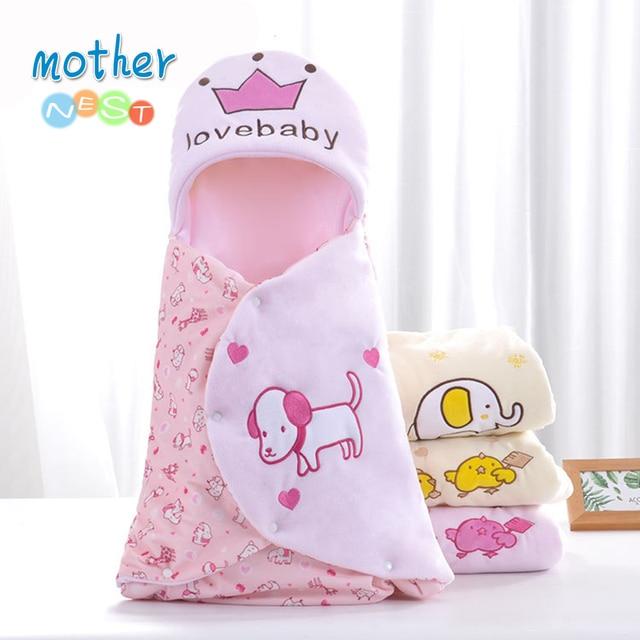 2018 милая, стильная спальный мешок для коляски для новорожденных спальные мешки осень Обёрточная бумага теплый конверт для новорожденных мальчиков