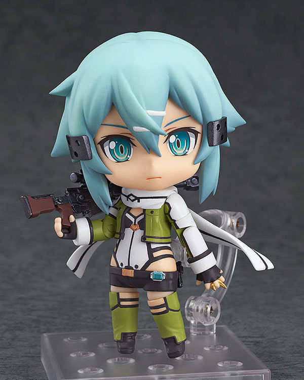 Anime Figure 10cm Nendoroid Sword Art Online II Asada Shino #452 PVC Action Figures Toys Model Collectibles