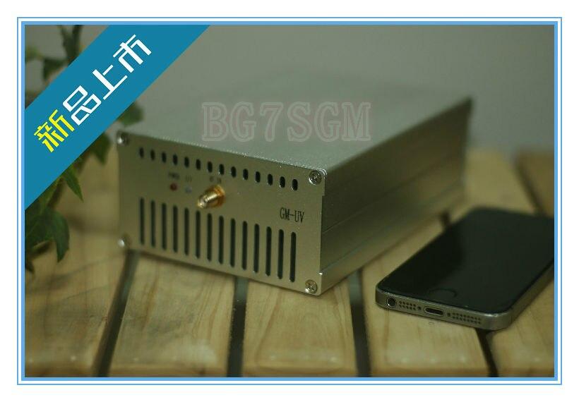 40W UHF 400-470MHZ VHF 136-170MHZ UV Dual-Band Ham Radio Power amplifier Interphone цена