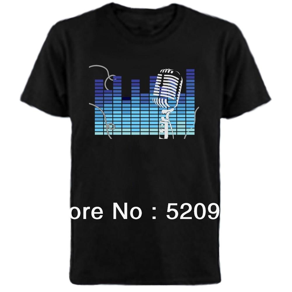 Wholesale fantastic font b LED b font t Shirt font b LED b font T shirt