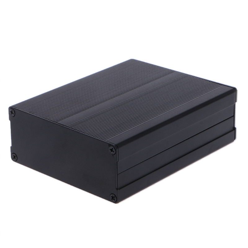 цена Aluminum Box Enclosure DIY Electronic Project Black Instrument Case 120x97x40mm R09 Drop ship