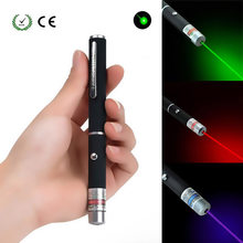 1Pcs Laser Pointer LAZER 5 MW Merah/Biru/Hijau Laser Pen Kuat Presenter Remote Berburu Bor Laser sighter Tanpa Baterai(China)
