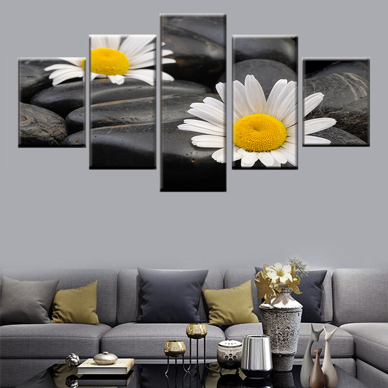 Gerbera Flower HD Canvas prints Painting Home decor Picture Room Wall art Poster