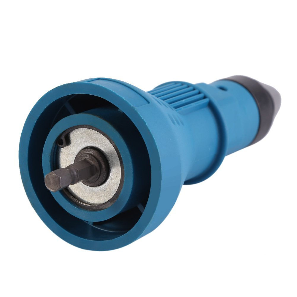Clearance SaleÁGun Drill-Adaptor Nut-Tool Nail-Gun Insert Riveting Electric-Rivet-Nut Cordless Multifunction