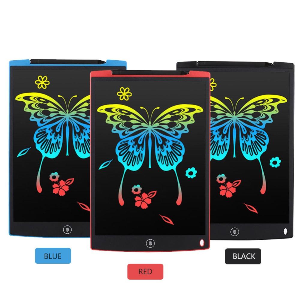 Tableta de escritura LCD 12 pulgadas dibujo Digital 8
