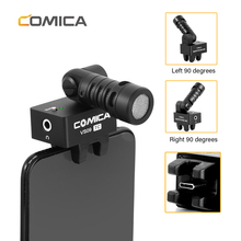 Comica CVM-VS09 TC Cardioid Microphone TYPE-C Smartphone Rotatable Wireless Mic for Huawei P30 pro Android Video