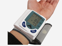 Wrist full automatic electronic sphygmomanometer blood pressure instrument blood pressure meter English Health Care
