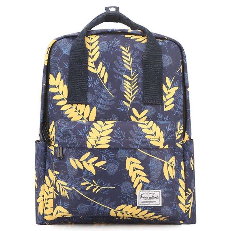 Preepy Waterproof Woman School Backpack for Girls 2019 Premium Canvas Fashion Printed Bookbag Lightweight Back Bag 14 Laptop
