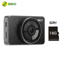 360 Smart Drive Recorder Camera + 16G SD Card | 3.0 inch 1080P FHD wifi Automatic loop recording 165 Wide angle monitor Video