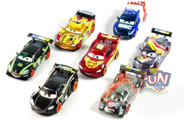 Cars 2 NEON Metallic Finish Racer SHU TODOROKI NIGEL