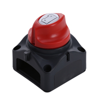 Newest 12V 24V Universal Battery Isolator Master Cutoff Cut Off Power Kill Switch Waterproof Cover For