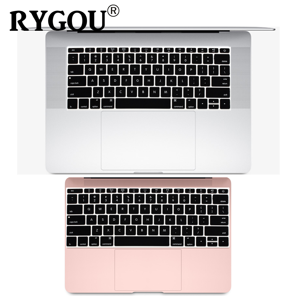 English Silicone Keyboard Cover for MacBook Pro 13 inch Non TouchBar Release 2016+ and For MacBook 12 inch A1534 A1931 Skin Film-in Keyboard Covers from Computer & Office
