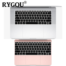 English Silicone Keyboard Cover for MacBook Pro 13 inch Non TouchBar Release 2016+ and For MacBook 12 inch A1534 A1931 Skin Film