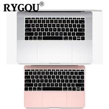 Housse de clavier en Silicone anglais pour MacBook Pro de 13 pouces, sans touch bar, version 2016 + et Film de peau pour MacBook 12 pouces A1534 A1931