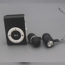 Модные мини USB клип цифровой Mp3 музыкальный плеер Поддержка 8 ГБ SD карты памяти Slick стильный дизайн Спорт компактный mp3 плеер горячая распродажа