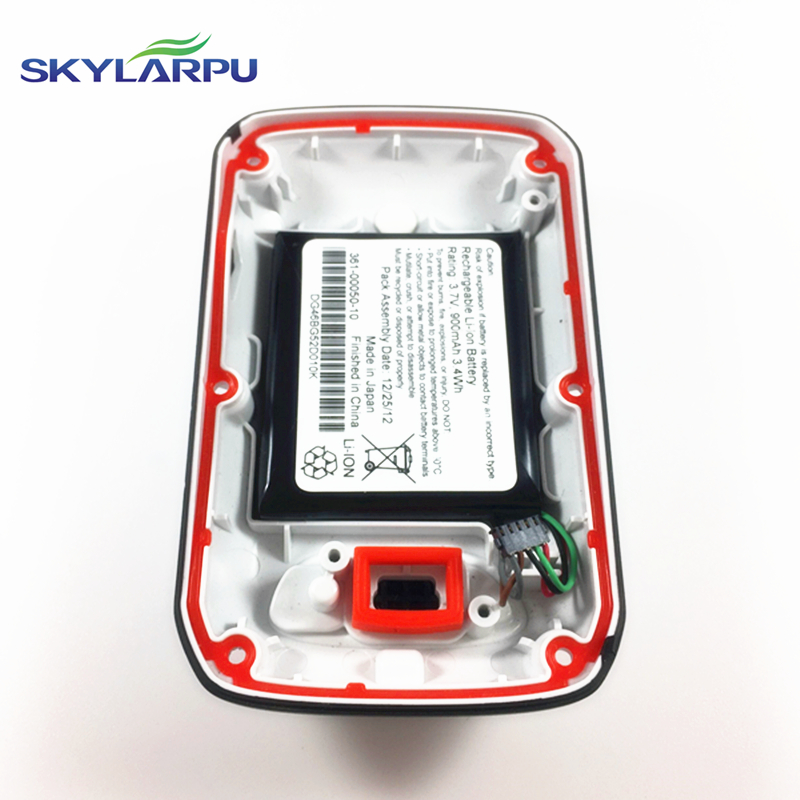 skylarpu rear cover for GARMIN EDGE 510 510J bicycle speed meter back cover With Battery Repair replacement Free shipping skylarpu lcd screen for garmin edge 520 bicycle speed meter lcd display screen panel repair replacement free shipping