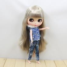 Neo Blythe Doll Pink & Blue Vest with Pant