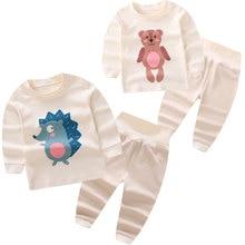High Quality Baby Clothes Newborn Costume 100% Organic Cotton Boys Girls Baby Children High Waist Winter Bodysuit Legging Shirt