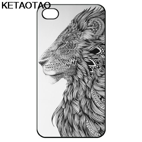 KETAOTAO Personalized Lion Head Phone Cases for iPhone 4S 5C 5S 6S 7 8 Plus X for Samsung S9 NOTE Case Soft TPU Rubber Silicone