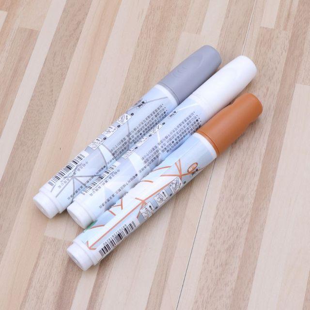 La lechada de la pluma de brecha de reparación 3 colores pluma blanca de recarga impermeable Mouldproof