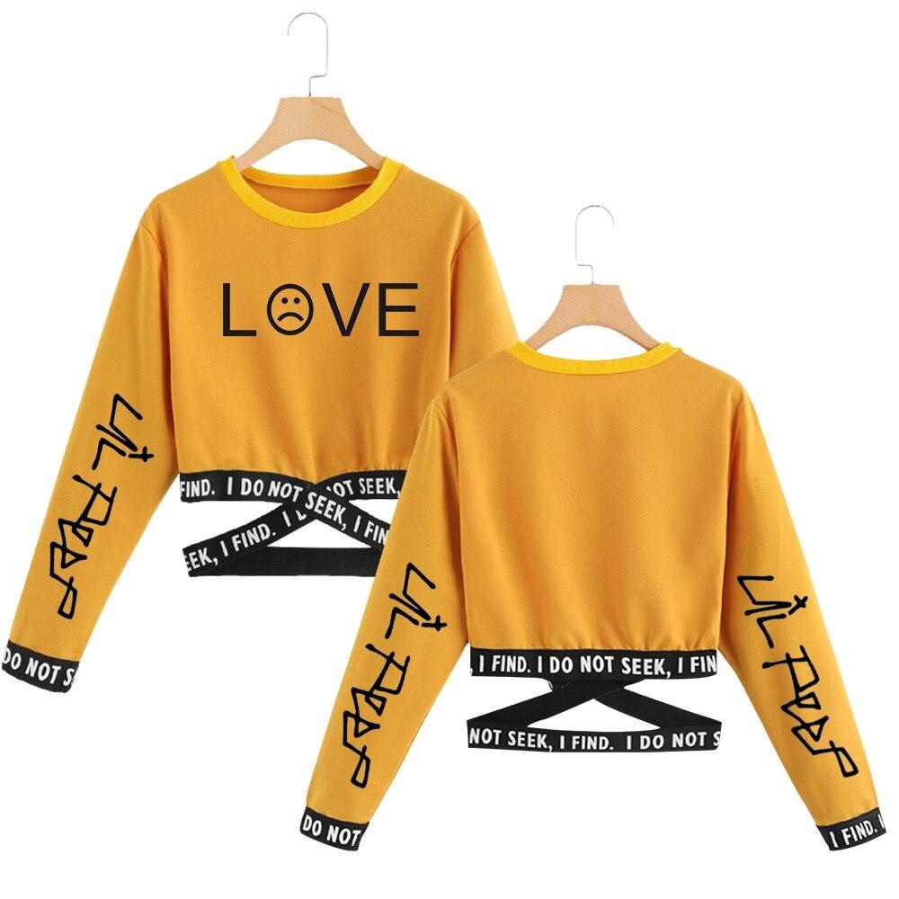 Lil Peep New Fashion New Print Harajuku Comfortable Capless Sweatshirtt High Quality Sweatshirt Women Hot Sale Coat Sweatshirt
