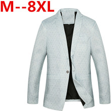 Plus size 9xl 8XL 7XL 6XL 5XL 2016 New Arrival Spring Men's Suit Jacket Fashion Slim Fit Brazer Casual Blazers Men High Quality