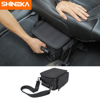 SHINEKA Stowing Tidying for Jeep Wrangler JL JK Sports Sahara Freedom Rubicon 2007 2019 Seat Storage Bag For Wrangler JK JL
