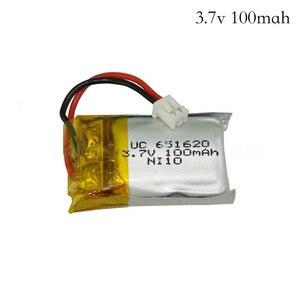 3,7 В, 100 мА/ч/120 мА/ч, 20c 651620 для Cheerson CX10, квадрокоптера с дистанционным управлением, с литий-полимерным аккумулятором 3,7 В, 100 мА/ч, 1,25 мм