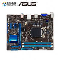 Asus P8H61-M LX3 PLUS R2.0 carte mère de bureau H61 Socket LGA 1155 pour Core i3 i5 i7 DDR3 16G SATA2 uATX carte mère d'origine utilisée