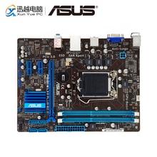 Asus P8H61 M LX3 ARTı R2.0 Masaüstü Anakart H61 Soket LGA 1155 Çekirdek i3 i5 i7 DDR3 16G SATA2 uATX Orijinal Kullanılan Anakart