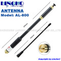 AL-800 dual band VHF UHF long range telescopic antenna AL800 SMA Female Walkie Talkie BAOFENG UV-5R UV-B6 TG-UV2 KG-UVD1P