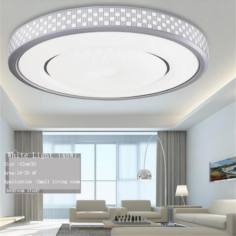 48W 60W 76W 124W LED Ceiling Light Living room Bedroom lamp 220V round Acrylic Led ceiling lamps lighting Dimmable light fixture vemma acrylic minimalist modern led ceiling lamps kitchen bathroom bedroom balcony corridor lamp lighting study