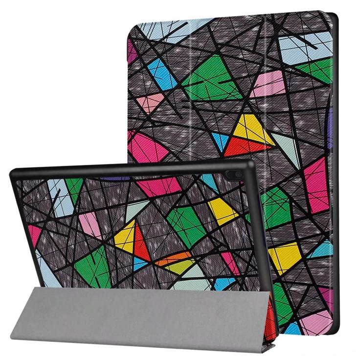 флип чехол для леново tab4 10 Smart Cage чехол для Lenovo вкладка 4 10 ТБ-x304f ТБ-x304n ТБ-x304l планета случае + протектор
