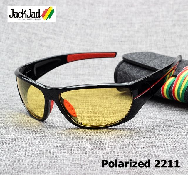 4a295c2524d5 JackJad Fashion Men Driving Polarized UV400 Sunglasses Goggles Outdoor Sport  Fishing Night Vision Sun Glasses Oculos De Sol 2211