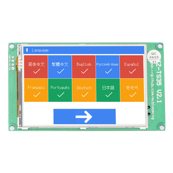 2K 3.5 inch multilingual Full Colored JZ-TS35 Touch Screen Display Board Ramps1.4 Mega2560 Marlin wifi for 3D Printer DIY parts