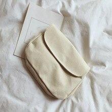 Mulheres lona baga estudante sacos de ombro sólido mensageiro sacos crossbody bolsas casuais pequenas bolsas femininas