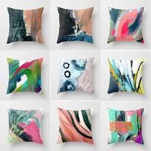Hot sale fashion creative beautiful pillowe case  square pattern Pillow cases boys girls weeping pillow cover size 45*45cm