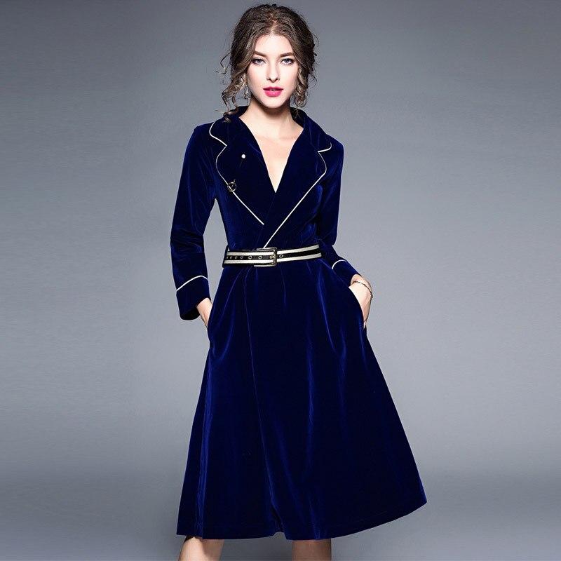 Лидер продаж Лето 2017 г. v-образным вырезом двубортный длинный тонкий юбка зимние пикантные Bodycon платье плюс Размеры женские Платья для женщи...