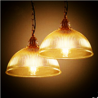 2 pcs Edison Style Retro Lampe Vintage Lamp Loft Industrial Pendant Lighting Fixtures Glass Hanging Light Lamparas Colgantes
