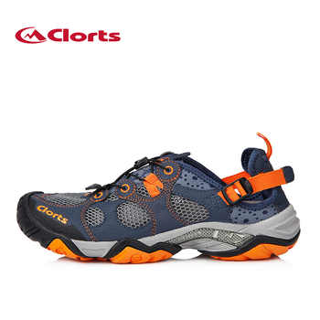 Clorts Summer Aqua Shoes for Men Quick-drying Swimming Sneakers Lighiweight Non-slip Wading Water Shoes 3H021