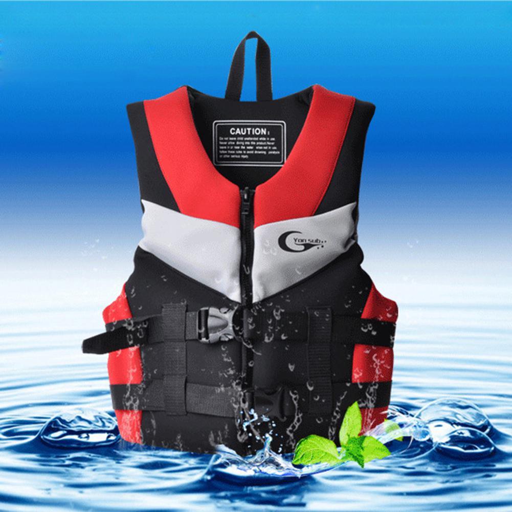 Gilet de sauvetage adulte costume de pêche multifonctionnel pour la dérive natation navigation de plaisance sauvetage gilet de sauvetage