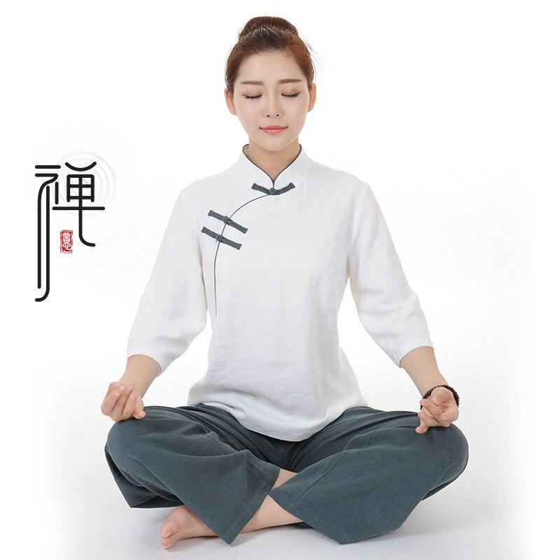New Chinese Kung Fu Suit Tai Chi Clothing Cotton Martial Art Uniform Wushu Taiji Clothing Taijiquan Practice Sets