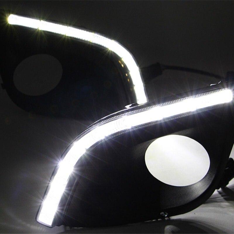 luckeasy car drl  for lada kalina 2 2014 2015 daytime running light Front Lamps day light led car 2x car led w5w t10 194 clearance light for lada granta vaz kalina priora niva samara 2 2110 largus 2109 2107 2106 4x4 2114 2112