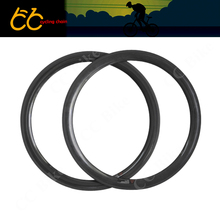700C Carbon Rim 50mm Clincher Road Bike Single Rim Toray Carbon T700 50mm Carbon Clincher Rim