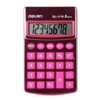 ReadStar Deli 1119A 8 Digits Calculator Pocket Calculator Design Student Officer Brand New 4 Colors