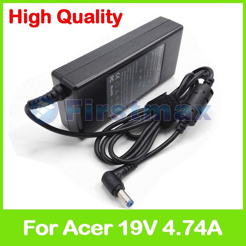 Зарядное устройство для ноутбуков Acer Aspire, 19 в, 4,74 А, 90 Вт, адаптер питания переменного тока для Acer Aspire 7552G 7552Z 7560G 7710 7714Z 7715G 7715Z 7720G 7720Z 7730G 7730Z|charger 12v|adapter acercharger lead acid battery | АлиЭкспресс