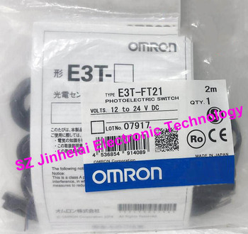100% New and original E3T-FT21 OMRON  Photoelectric switch  Photoelectric sensor   12-24V DC  2M